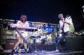 Blonde Redhead at LAUNCH 2013. Photo Melissa Uroff.