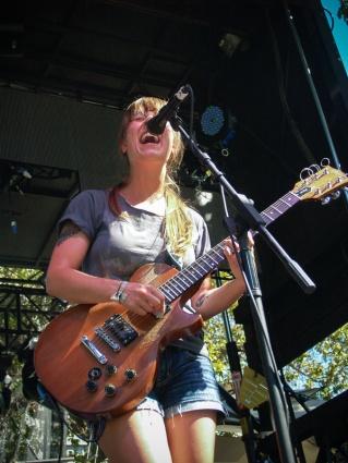 Shenna Ozzella of Buffalo, NY band Lemuria. LAUNCH 2013. Photo Kate Gonzales