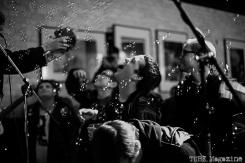 The Croissants brought bubbles. Photo Heather Uroff