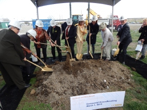Breaking Ground for the Shrem Museum of Art