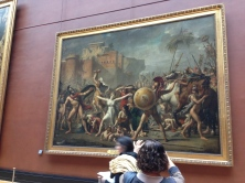 By Jacques-Louis David. Huge painting, great example of Neo-Classicism.
