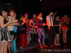 Prizes were given out to those who came in crazy circus themed outfits Photo by Ryan Stewart