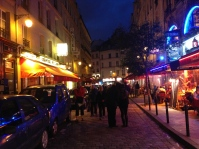 The Latin Quarter at Night