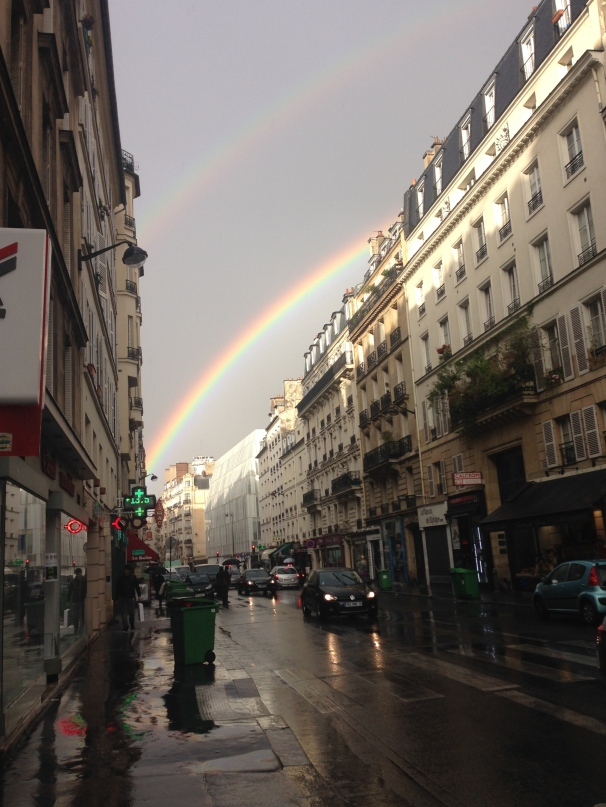 Double Rainbow in Paris