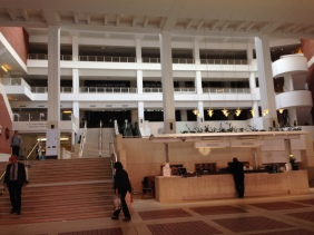 British Library interior