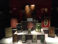 Treasures of the British Library exhibit.