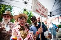 In costume at the 2014 Lagunitas Beer Circus in Petaluma CA. Photo Melissa Uroff