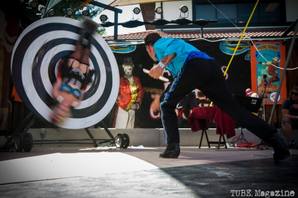 Molotov and Dixie Delish performing at the 2014 Lagunitas Beer Circus in Petaluma CA. Photo Melissa Uroff