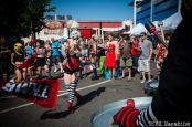 Performance was found off the stage as well at the 2014 Lagunitas Beer Circus in Petaluma, CA. Photo Melissa Uroff