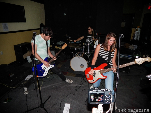 The Yoo Hoos playing in Sacramento CA at Cafe Colonial during Bat Guano Festival 2014. Photo Ryan Stewart