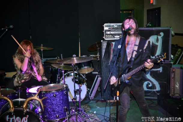 The Cadaver Dogs playing in Sacramento CA at Cafe Colonial during Bat Guano Festival 2014. Photo Ryan Stewart.