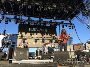Sacramento TBD Fest 2014. Kurt Vile and the Violators laying claim to the LowBrau stage. Photo Sven Olai