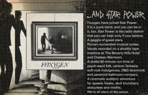 Foxygen …And StarPower.