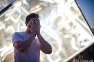 Sacramento TBD Fest 2014. Holy Cube visual artist Matt Brown. Photo Melissa Uroff.