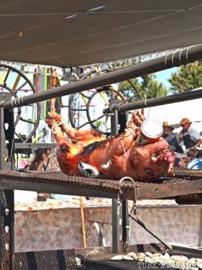 Pig Roasting at Sacramento TBD Fest 2014. Photo Sarah Elliott