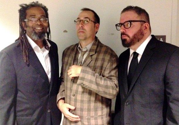 Ngaio, Keith and Johnny.  Photo Jay Siren.