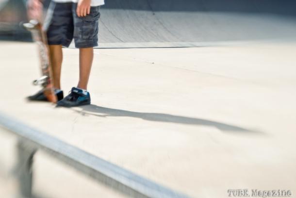 Local skateboarder. Photo Melissa Uroff