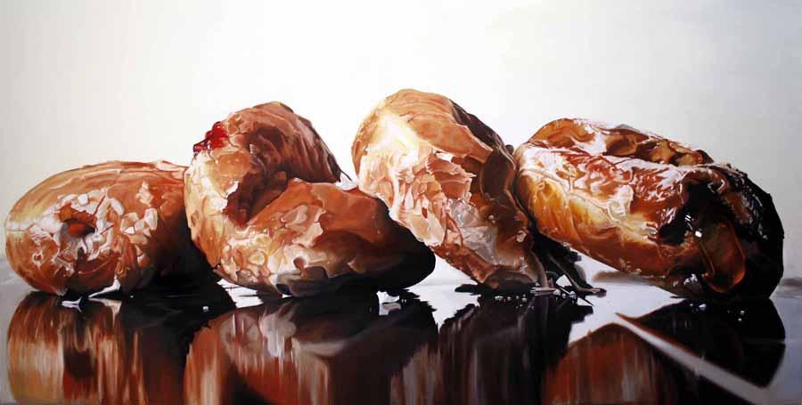 Donuts Behaving BadlySloth Denise Stewart Sanabria
