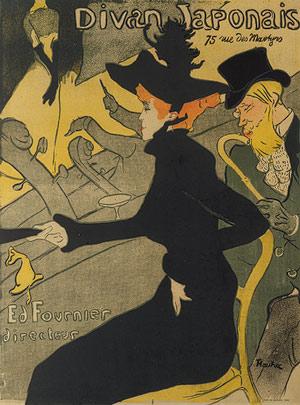 Divan Japonais by Henri de Toulouse Lautrec