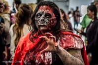 Fan in Zombie Cosplay