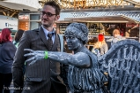 Doctor Who and the terrifying Weeping Angel Cosplayers