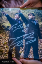 Fangirl got Doctor Who's Matt Smiths autograph