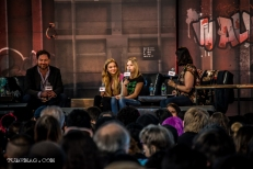 Kyla Kenedy & Brighton Sharbino from TWD Panel
