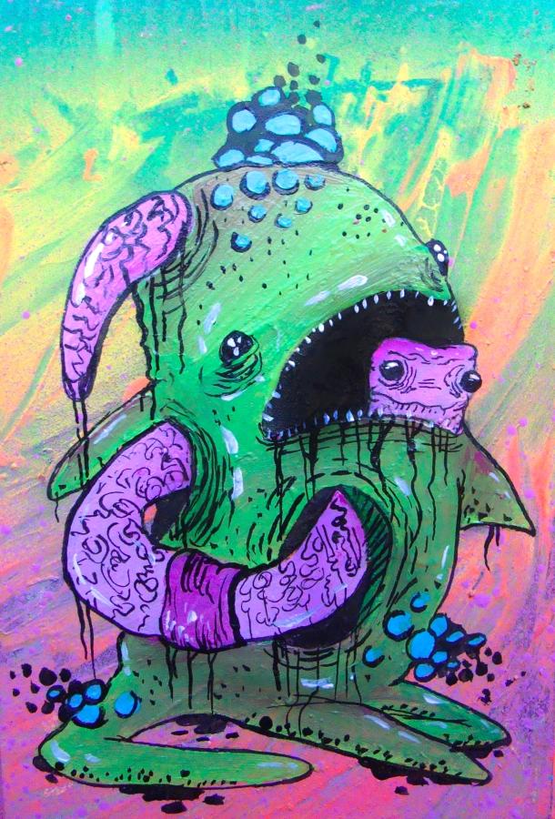 I Got Worm. Artist Jared Konopitski.