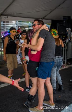 Couple dancing at Sac Pride 2015. Sacramento, CA. 2015, Photo Sarah Elliott