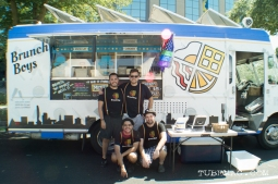 The Brunch Boys of Sacramento at Sac Pride 2015. Sacramento, CA. 2015. Photo Alejandro Montaño.