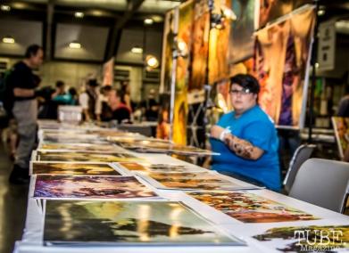Art Vendors. Sacramento Wizard World Comic Con 2015. Photo Sarah Elliott