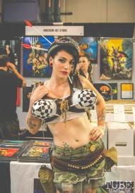 Tank Girl Cosplay at Sacramento Wizard World Comic Con 2015. Photo Sarah Elliott