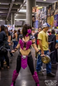 Video Game babe at Sacramento Wizard World Comic Con 2015. Photo Sarah Elliott