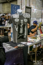 The cool things you could buy. Sacramento Wizard World Comic Con 2015. Photo Sarah Elliott
