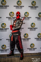 Spiderman at Sacramento Wizard World Comic Con 2015. Photo Sarah Elliott