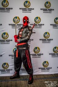 Spiderman at Sacramento Wizard World Comic Con 2015. Photo Sarah Elliott