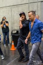 Norman Reedus and Sean Patrick Flanery. Sacramento Wizard World Comic Con 2015. Photo Sarah Elliott