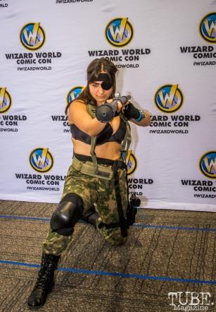 Cosplayer at Sacramento Wizard World Comic Con 2015. Photo Sarah Elliott