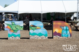 TBD art work at TBD Festival 2015 in Sacramento, Ca. September 2015. Photo Alejandro Montaño
