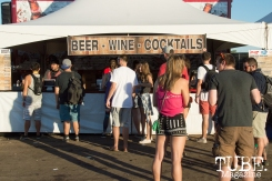 TBD goers getting in line for some refreshments at TBD Festival in Sacramento, Ca. September 2015. Photo Alejandro Montaño