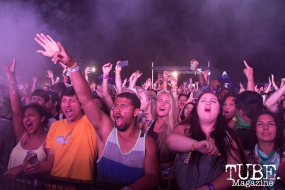 The crowd's excitement for Ratatat at TBD Festival in Sacramento, Ca. September 2015. Photo Alejandro Montaño
