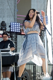 Lyrics Born playing on the Jukely Stage at TBD Festival in Sacramento, Ca. September 2015. Photo Alejandro Montaño