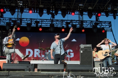 Dr. Dog playing on the TBD Stage at TBD Festival in Sacramento, Ca. September 2015. Photo Alejandro Montaño
