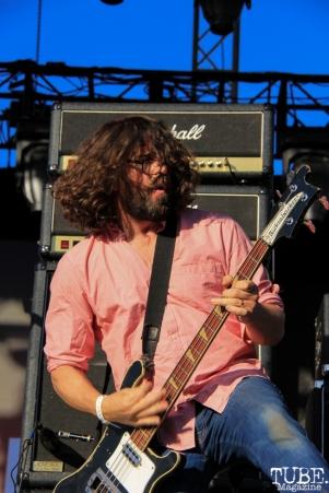 Dinosaur Jr's bassist, Lou Barlow at TBD, Sacramento CA.September 20,2015. Photo Anouk Nexus