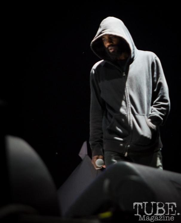 MC Ride lead singer of Death Grips, Tbd Fest, Sacramento, Ca 2015 Photo Melissa Uroff