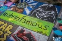 #ohsofamous, Star Wars, Chalk It Up, Sacramento 2015, Photo Sarah Elliott