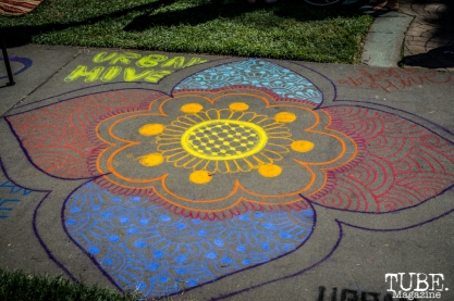 Urban Hive, Mandala, Chalk It Up, Sacramento 2015, Photo Sarah Elliott