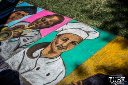Sidewalk Art, Chalk It Up, Sacramento 2015, Photo Sarah Elliott