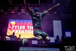 Tyler the Creator at TBD Fest, Sacramento CA. 2015 Photo Sarah Elliott