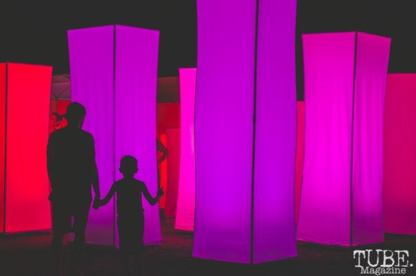 Art installation at TBD Fest, Sacramento CA. 2015 Photo Sarah Elliott